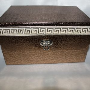 Other - ORGANIZER BOX FOR JEWELRY OR MAKEUP COLOR BROWN